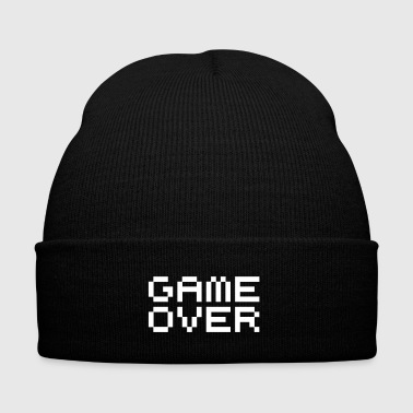 Game over / game over pixels - Wintermütze