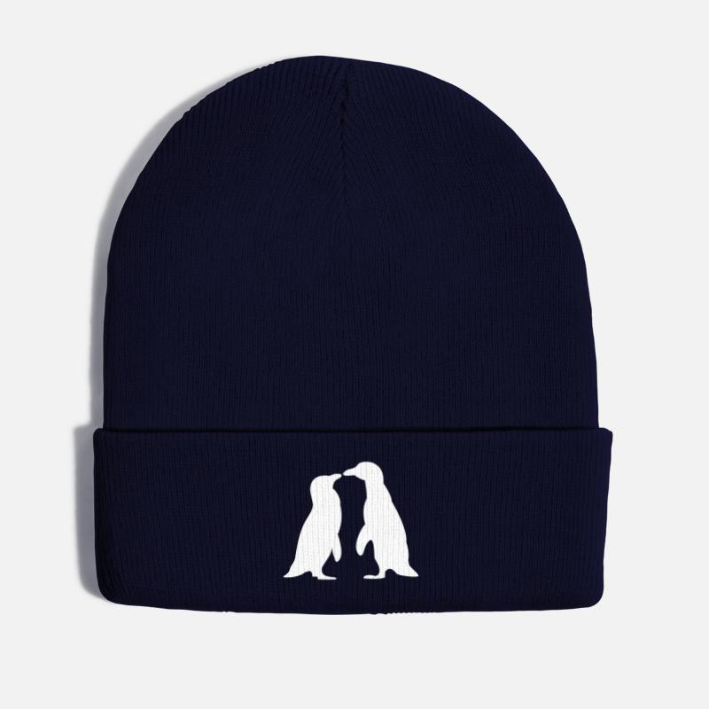 216fe9ce Penguins in love - love each other penguins Winter Hat   Spreadshirt