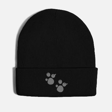 Foot paw_prints - Winter Hat
