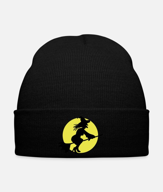 Easter Caps & Hats - Flying witch - Winter Hat black
