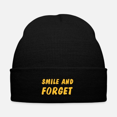 Wisdom smile and forget - Winter Hat