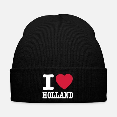 Wc i love holland IT - Cappellino invernale