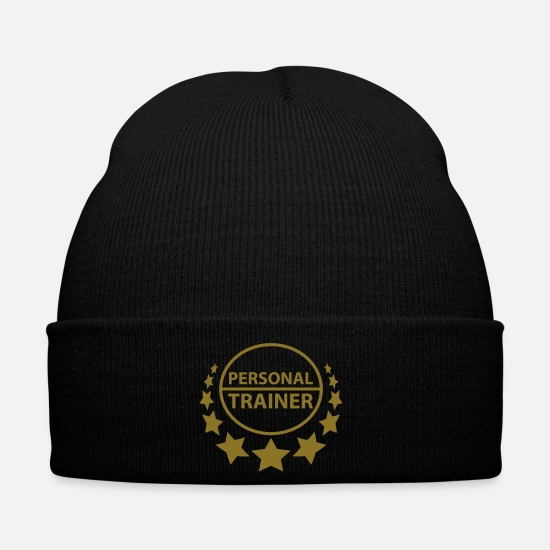 Attractive Caps & Hats - personal_trainer - Winter Hat black