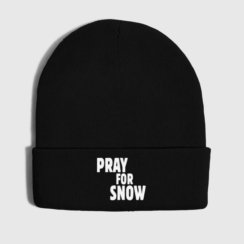 pray for snow - Gorro de invierno