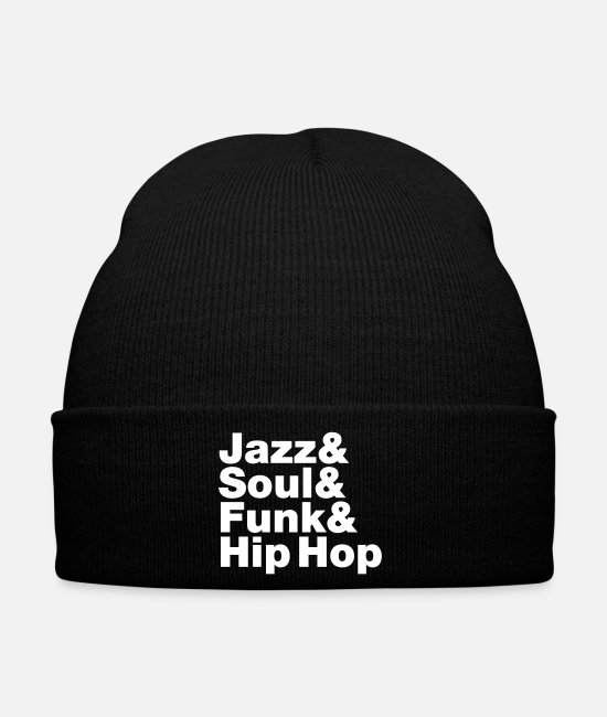Turntablist Caps & Hats - Jazz & Soul & Funk & Hip Hop - Winter Hat black