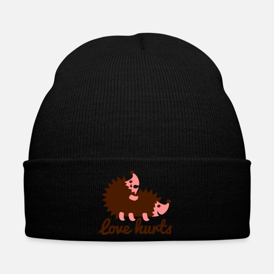 Love Caps & Hats - Love Hurts - Winter Hat black