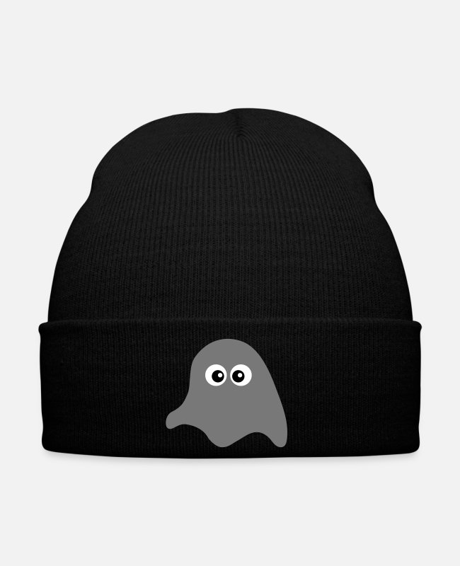 Boo Caps & Hats - Cute ghost - Winter Hat black