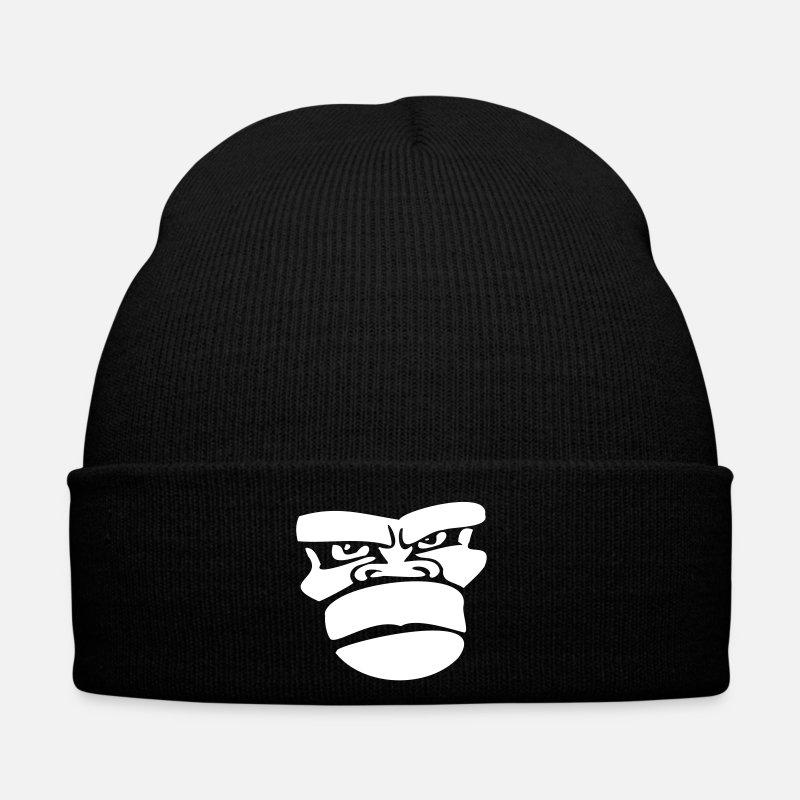 5727c2b3271 Funky Caps   Hats - gorilla monkey affengesicht ape - Winter Hat black