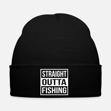 Carpa Straight Outta Fishing - Gorro de invierno