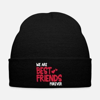 Mejores Amigos we are best friends forever i 2c - Gorro de invierno