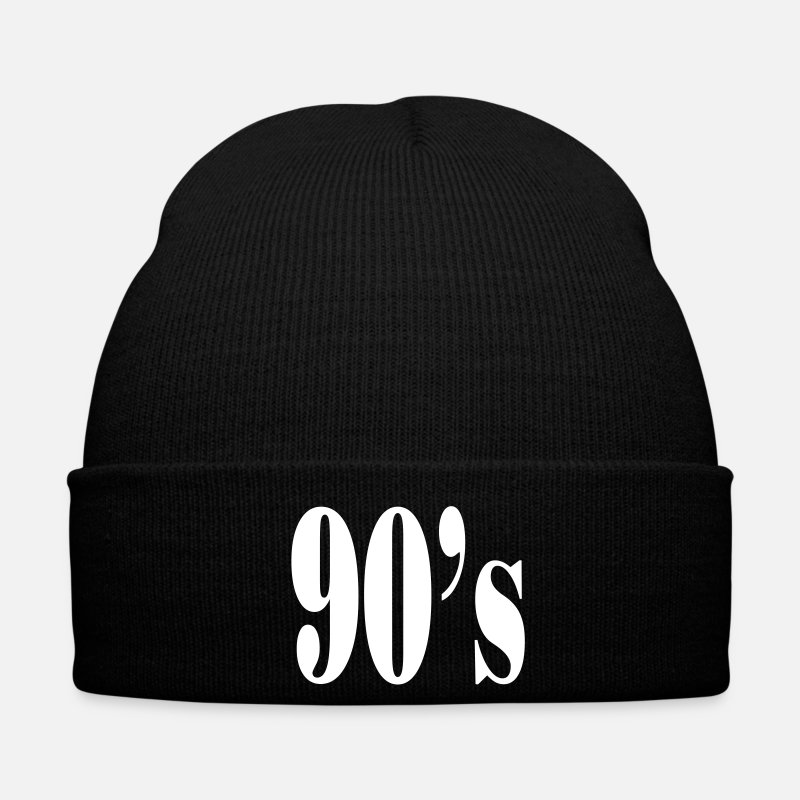 90s Caps & Hats - 90s - Winter Hat black