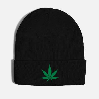 Hemp hemp leaf - Winter Hat
