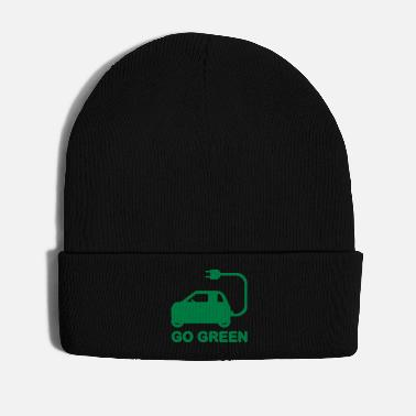Drive Go By Car GO GREEN ~ DRIVE ELECTRIC CARS - Winter Hat