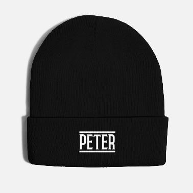 Name Day peter name - Winter Hat