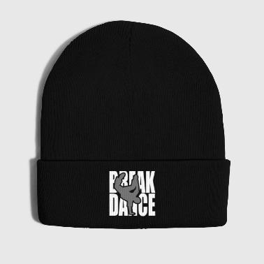 Breakdance danza break música silueta Clipart - Gorro de invierno