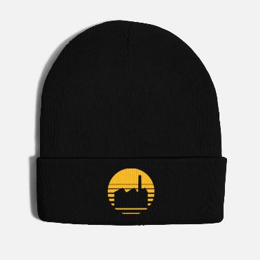 Industry industry factory building logo - Winter Hat