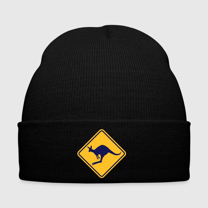 Kangaroo road sign - Winter Hat