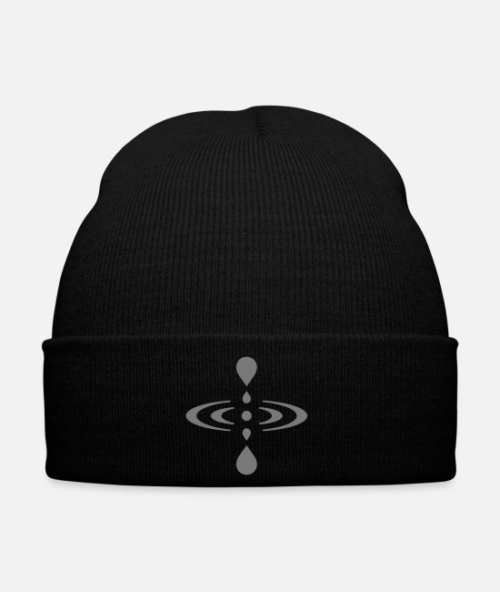 Drawing Caps & Hats - Mindfulness (customizable colors) - Winter Hat black
