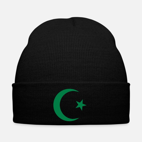 Turk Caps & Hats - Star and Crescent - Winter Hat black