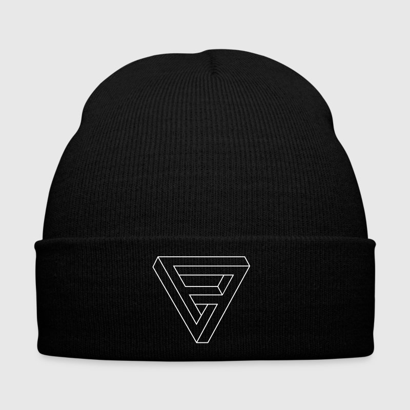 Optical Illusion -  Impossible figure - Triangle - Winter Hat