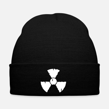 Nucleare radio active / radioactive - Cappellino invernale