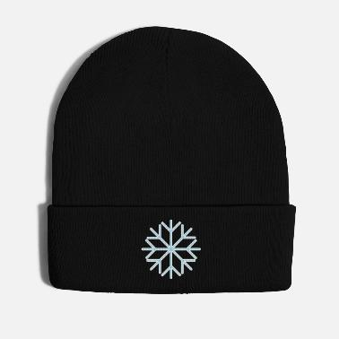 Ice Crystal Snow snowflake ice ice crystal winter 2c - Winter Hat