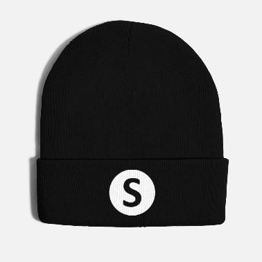 Idea S, gift, gift idea, idea, letter, name - Winter Hat