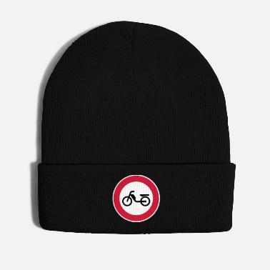 Prohibitory Sign Moped moped Prohibition Prohibition Sign Road Sign - Winter Hat