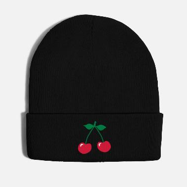 Rockabilly cherry rockabilly symbol_patjila - Winter Hat