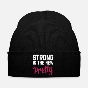 Training Strong Is the New Pretty  - Cappellino invernale