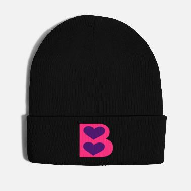 B Day ❤↷Initial B-Elegant Romantic Lovely Chic Font↶❤ - Winter Hat