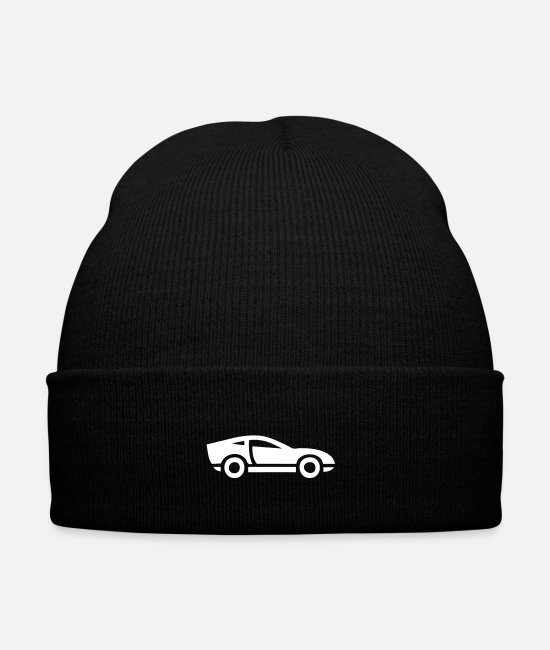 Competition Caps & Hats - sports car - Winter Hat black