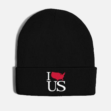 United I love US - I love United States - Wintermütze