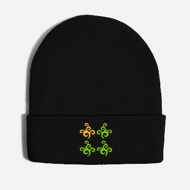 Plant Grounds plant nature tendril symbol tattoo - Winter Hat