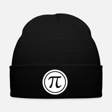 Mathematics PI (circle number) - Mathematics - Nerd & Geek - Winter Hat