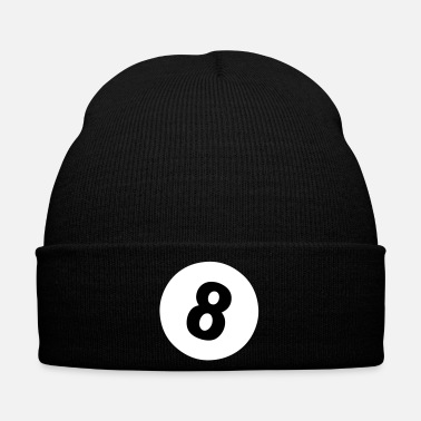 Pool 8 ball - pool design - Bonnet d'hiver
