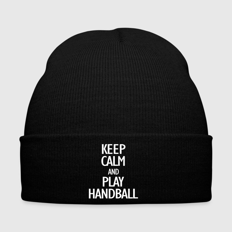 keep calm and play handball - Winter Hat