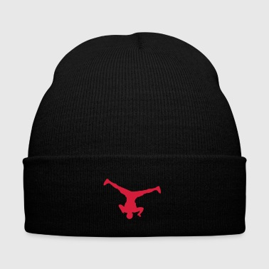 Breakdance Breakdancer (spin) (Vector) - Winter Hat
