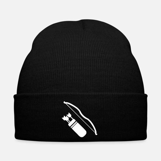 Weapon Caps & Hats - L - Winter Hat black