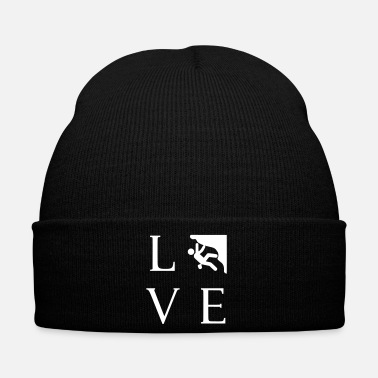 Mountains Love climbing for climbers - Winter Hat