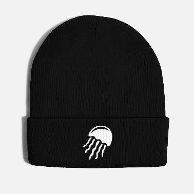 North Sea Jellyfish from the sea - Winter Hat