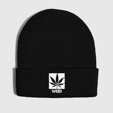 weed with boxed leaf - Gorro de invierno