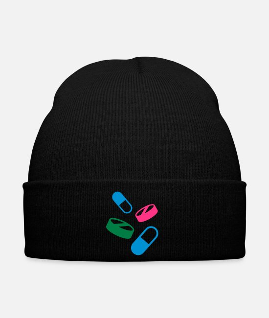 Medicine Caps & Hats - Medicine - Winter Hat black