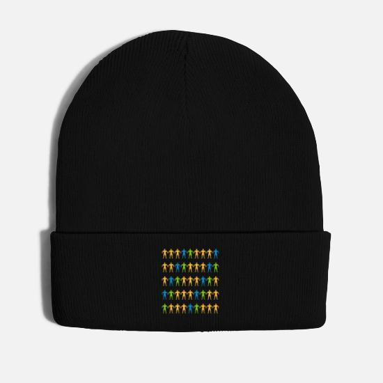 Look Good Caps & Hats - Muscles fitness gym workout training - Winter Hat black