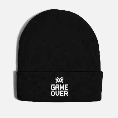 Game Over game over with sprite - Gorro de invierno