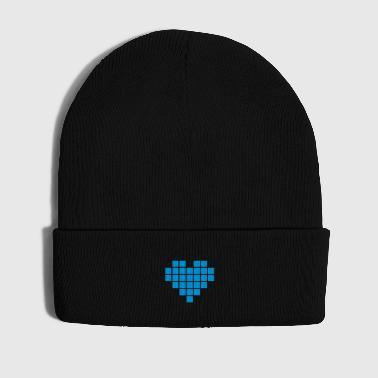 Pixel Love / pixel heart - Winter Hat