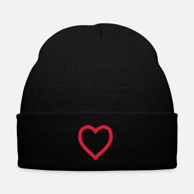 Serce Heart outline - Bonnet d'hiver