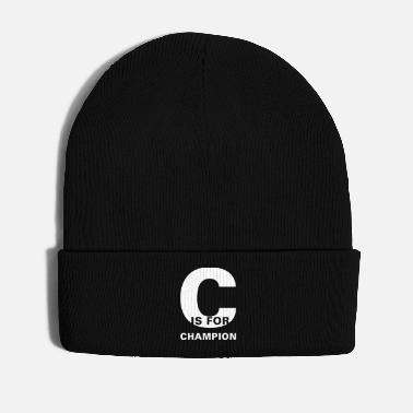 Champ C Is For Champion Fitness Workout Geschenk - Wintermütze
