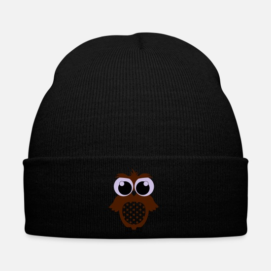 Birdie Caps & Hats - OWL - Winter Hat black