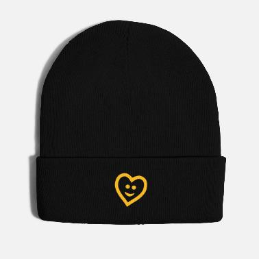 Cuore Heart with smile - Winter Hat